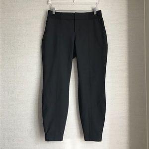 Athleta Wool Work It City Pant In Black